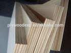 hard wood core/pine face plywood
