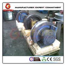 High quality alloy rail wheel for transport on rail
