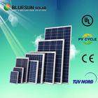 qualified good price hot sale Poly 245W Bluesun solar panels power