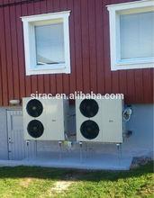 house heating heat pump, air to water heat pump