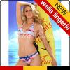 WELLA LINGERIE Art Pattern Fashionable bikini most popular xxxl hot sex bikini