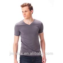 China supplier new product 100% cotton men plain promotional t-shirts