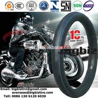 Butyl motorcycle inner tube, 250 17 inner tube for motorcycle