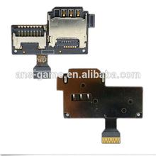 Sim Card Reader Micro SD Slot Flex for Samsung Galaxy S4 Mini 4G i9195