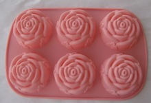 Handmade 3d rectangle silicone soap mold
