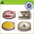 logo personnalisé tout style de haute qualité en métal boucles de ceinture