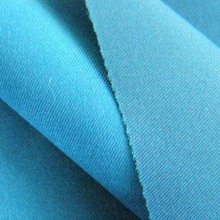 100% polyester twilled peach skin fabric/dyed/for garments