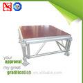 Altura ajustable 18mm de calidad del hight anti- deslizamiento de madera contrachapada de aluminio etapa