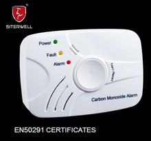 battery operated carbon monoxide detectors with en50291 standard certified by intertek GS809