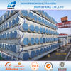 Screwed and socked steel tube BS 1387 galvanized steel pipe