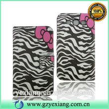 For Galaxy Vin Samsung I8552 Case, Flip Leather Case For Samsung I8552