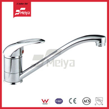 Single Hose Kitchen Sink Basin Water Faucet Mixer In A Factory