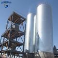 Cono/inoxidable tolva galvanizado de acero de grano los silos