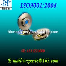 4351220080 TOYOTA replacing brake disc