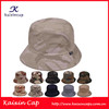 wholesale high quality custom designed hot sale camouflage bucket hats with woven label