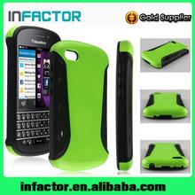 OEM/ODM Premium TPU+PC material mobie phone cover case for Blackberry Q10