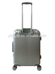 2015 new design aluminium luggage suitcase, trolley case,20,24,28 carry-on luggage