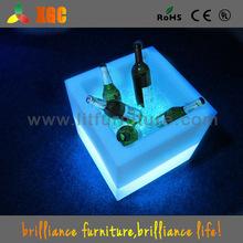 illuminated Cube ice bucket for bar &bar furniture stools
