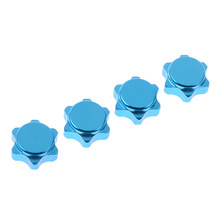 China manufacturer 1/8 Wheel Nuts Fine Blue, 21572 RC car accessories