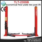 CE Launch TLT235 SB 3500kg capacity 2 post floor car hoist/ mechanical workshop equipment