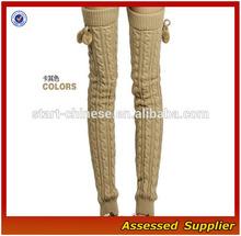 Women Beautiful Leg Warmer/Novelty Color Women Slender Autumn Leg Warmer/Over Knee High Women Graceful Legging