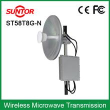 outdoor network RJ45 port av signal 5.8ghz wireless digital bridge
