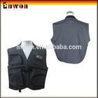 Black Quality Floating Fishing Vest