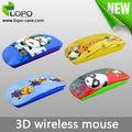 Sublimación de moda 3D ratón inalámbrico