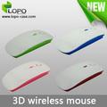 Mejor vendido sublimación 3D ratón inalámbrico