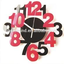 14 inch acrylic mirror wall clocks(T4080)