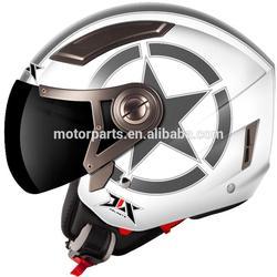 motorcycle helmet for Australian market half face ladies helmet for adult