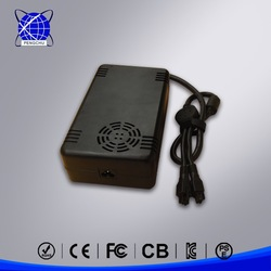 slim led power supply 15v 23a with plactic casing made in china