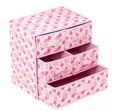 4 gavetas caixa de armazenamento de plástico ikea caixa de acrílico makeup organizer papelão caixa de armazenamento não tecido