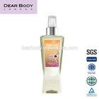 Dearbody 236ml deodorant body spray Wholesale fragrance mist,Forever Sunshine