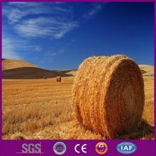 Hay bale net wrap/bale wrap net/white grass net
