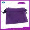 lovely hot sale net bag gift nylon mesh bag with drawstring