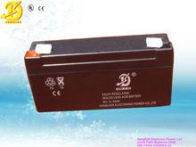 Maintenance-free storage deep cycle rechargeable battery 6v 3.3ah 3.2ah 3ah