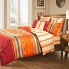 batik applique work branded bed sheet