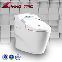 hot sale bathroom sanitary ware automatic washing one piece toilet wc ceramic intelligent toilet