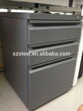 High quality file cabinet under desk/ steel pedestal/ steel office furniture