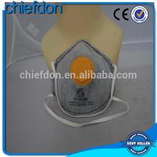 hot cheap disposable active carbon dust respirator mask
