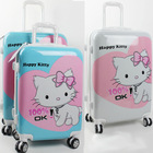 unique mickey / hello kitty cartoon luggage bag sets