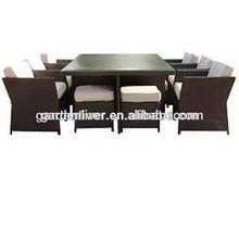 2014 New modern rattan dining chair