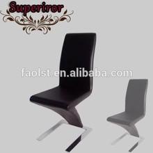 modern chrome z chair for restaurant and coffee shop cheap