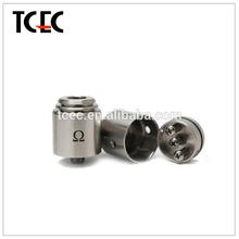 2014 new and popular product omega atomizer for mechanical mod ecig vaporizer pen China manufacturer alibaba express