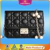 2014 OEM fashion korean branded multi color leather office girl bag