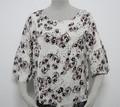 2014 nuevo estilo elegante modelos de satén de seda blusas