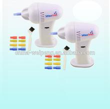 Eléctrica limpiador del oído/waxvac/de plástico limpiador de lengua