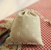 2014 hot sale wedding drawstring custom gift bag with paper stain cotton organza velvet