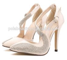 shoe women elegant high heel women wedding shoes PZ2911
